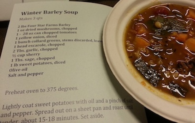 Winter Barley Soup