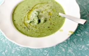 Broccoli and Cannellini Bean Soup