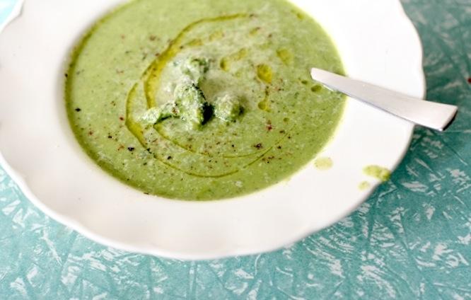 Broccoli Cannellini Soup