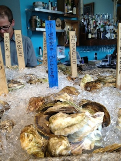 Oysters at Eventide