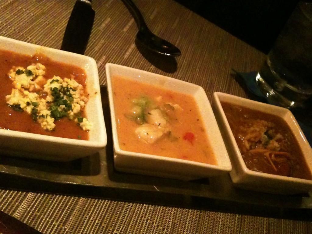Acadiana Trio of Soups