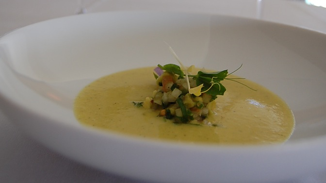 Smoked Corn Soup