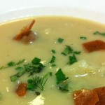 Parsnip and Crab Apple Soup