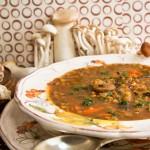 Chef Marjorie Druker's Mushroom Lentil Soup