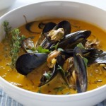 Chef Fabio Viviani's Mussel Soup with Leeks and Saffron