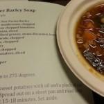 Winter Barley Soup