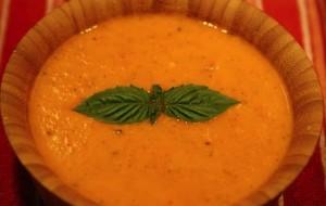 Creamy Bell Pepper and Orange Tomato Soup