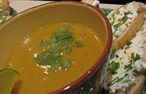 Vegetarian Squash Soup