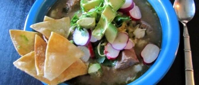 Pork Posole Soup