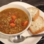 (GF & V) Vegetable Lentil Soup